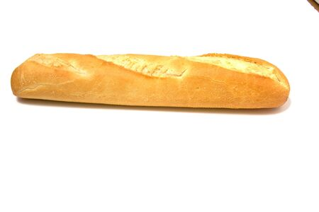 baguette isolated on white Stock Photo - 3788710