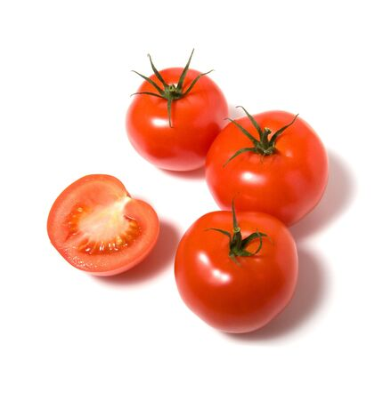 tomato isolated on white background Stock Photo - 3863512