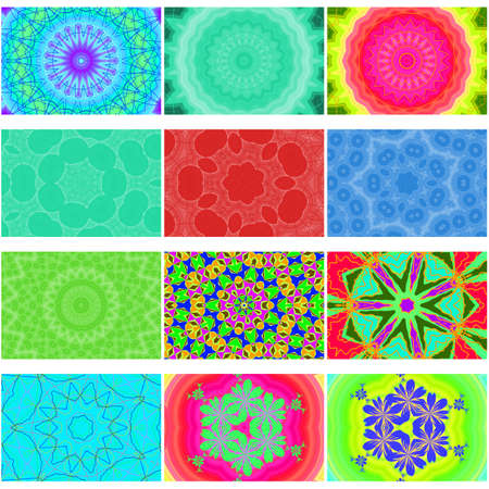floral backgrounds collection Stock Photo - 4281052