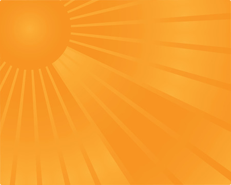 sunrise background in vector Vector