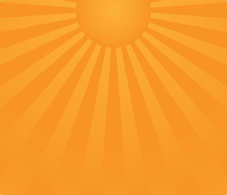 sunrise background in vector Stock Vector - 5380268