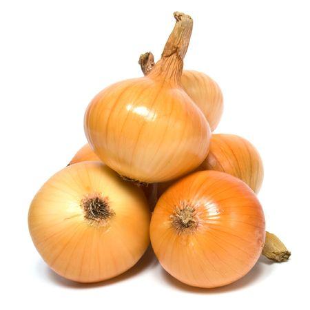 onion isolated on white background Stock Photo - 5774130
