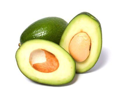 avocado isolated on white background Stock Photo - 5774133