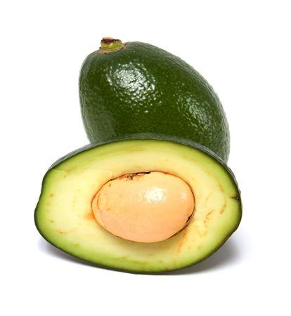 avocado isolated on white background Stock Photo - 5774139