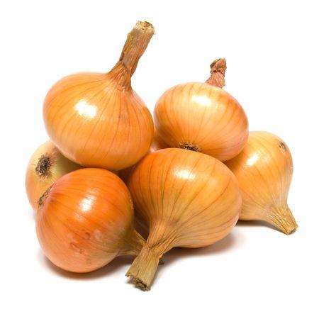 onion isolated on white background Stock Photo - 5866088