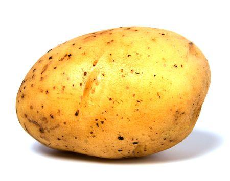 potato isolated on white background Stock Photo - 5958545