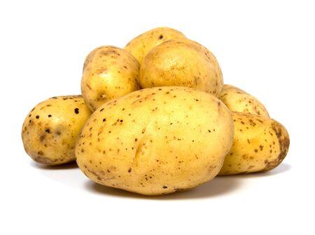 potatoes isolated on white background Stock Photo - 5973593