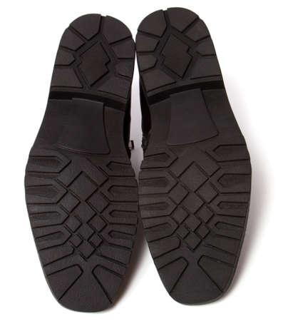 shoes sole isolated on white background Stock Photo - 5973581
