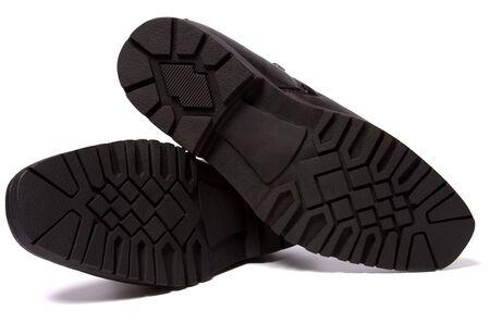 shoes sole isolated on white background photo