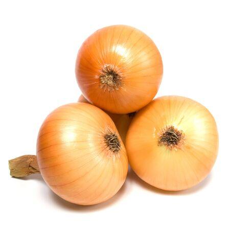 cebolla blanca: cebolla aislado sobre fondo blanco