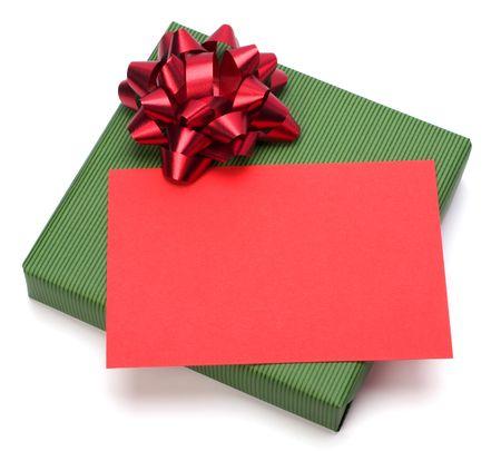 gift isolated on white background Stock Photo - 6026285