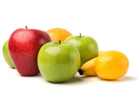 fruits isolated on white background Stock Photo - 6099497