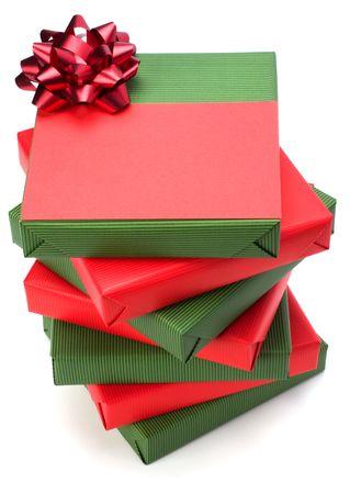 gift isolated on white background photo