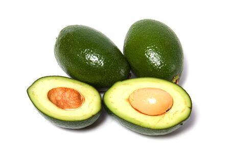 avocado isolated on white background Stock Photo - 6099519