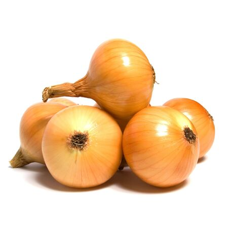 onion isolated on white background photo