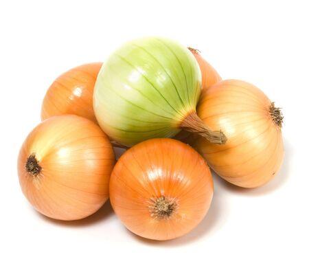 onion isolated: cebolla aislado sobre fondo blanco