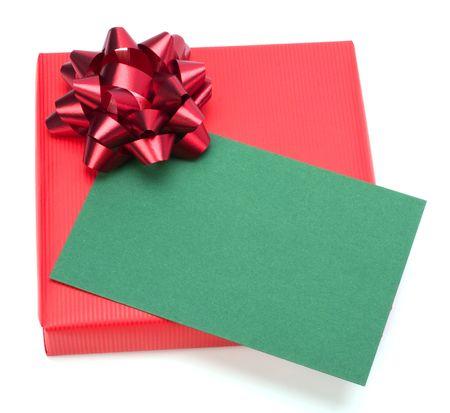 gift isolated on white background Stock Photo - 6161751