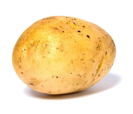 potato isolated on white background