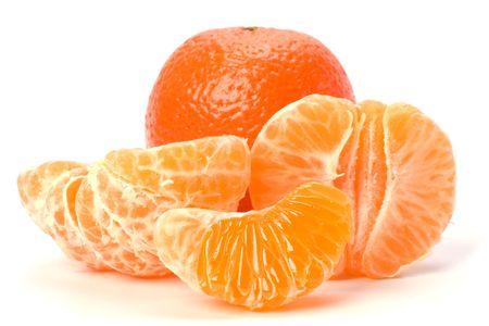 mandarin  isolated on white background Stock Photo - 6572902