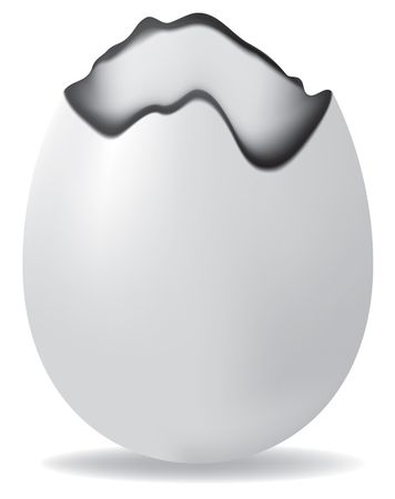 raster. easter egg photo