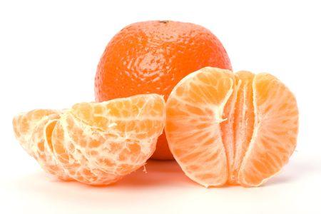 mandarin  isolated on white background Stock Photo - 6747865