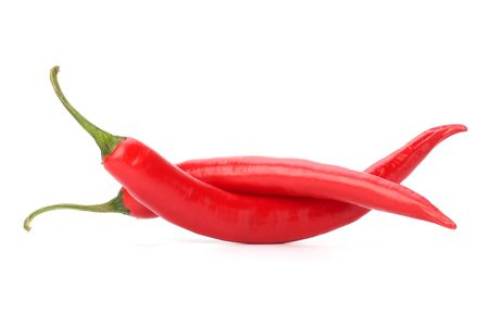 Chili pepper isolated on white background Stock Photo - 6747824