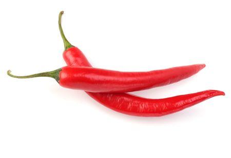 Chili pepper isolated on white background Stock Photo - 6747827