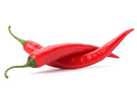 Chili pepper isolated on white background Stock Photo - 6972857