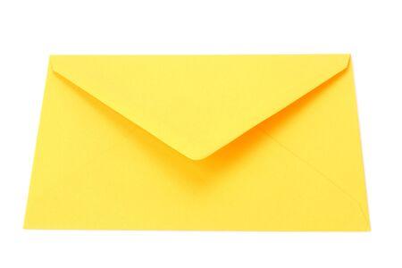 sealable: envelope isolated on white background