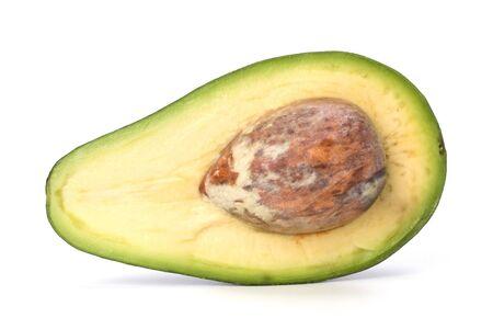 avocado isolated on white background Stock Photo - 7155076