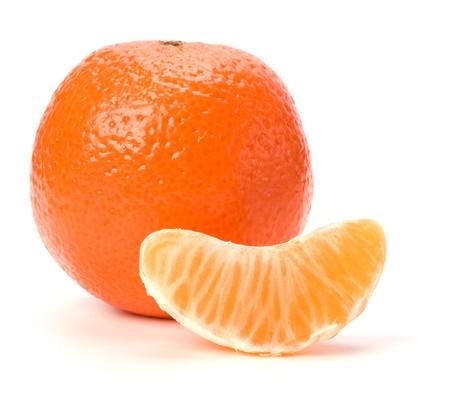 mandarin  isolated on white background Stock Photo - 7497399