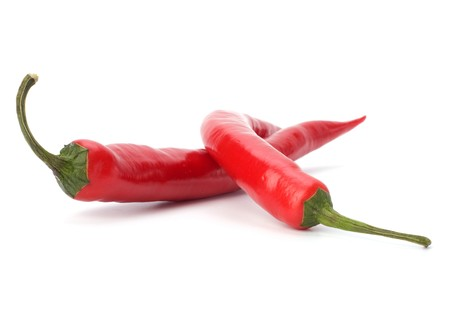 Chili pepper isolated on white background Stock Photo - 7496953