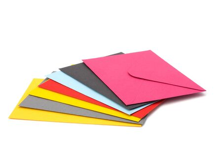 sealable: envelopes isolated on the white background close up