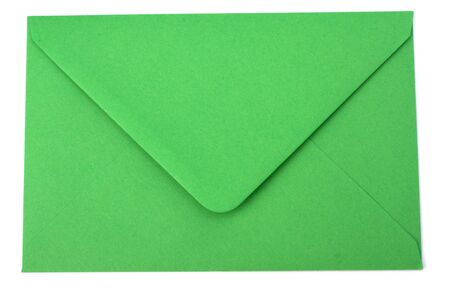 envelope isolated on the white background Stock Photo