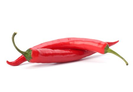 Chili pepper isolated on white background Stock Photo - 8281613