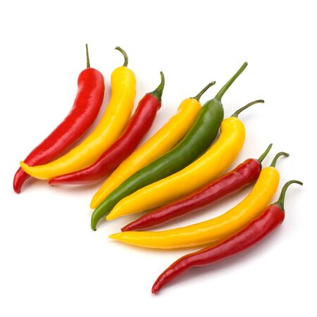 Chili pepper isolated on white background Stock Photo - 8281674