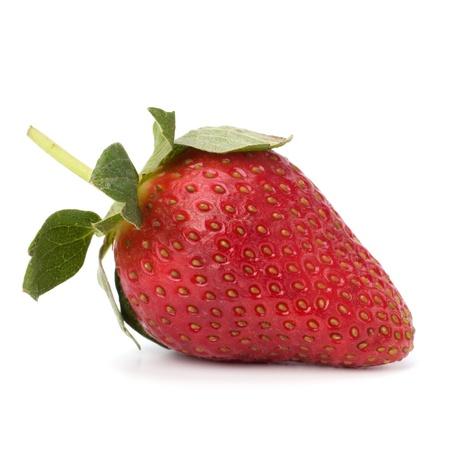 Strawberry isolated on white background close up Stock Photo - 8390201