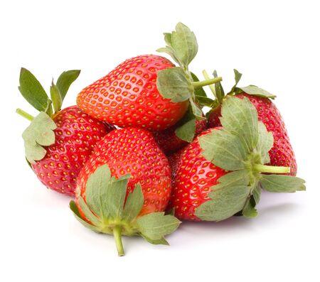 Strawberries isolated on white background Stock Photo - 8527647