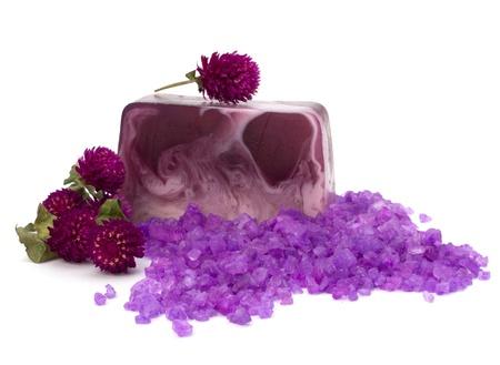 Luxury soap isolated on white background Stock Photo - 9061669