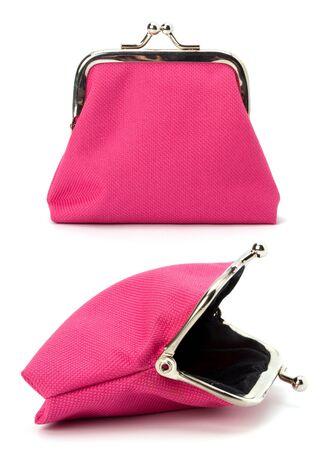 Glamour purse  isolated on white background Stock Photo - 9054035