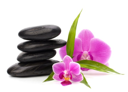 Zen pebbles balance. Spa and healthcare concept. Stock Photo - 9243256