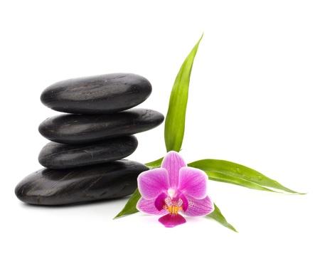 Zen pebbles balance. Spa and healthcare concept. Stock Photo - 9473303
