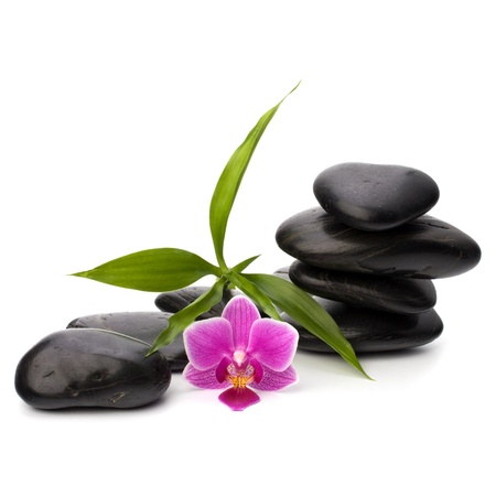 Zen pebbles balance. Spa and healthcare concept. Stock Photo - 9477110