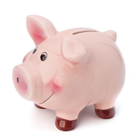 cuenta bancaria: Hucha aislados sobre fondo blanco