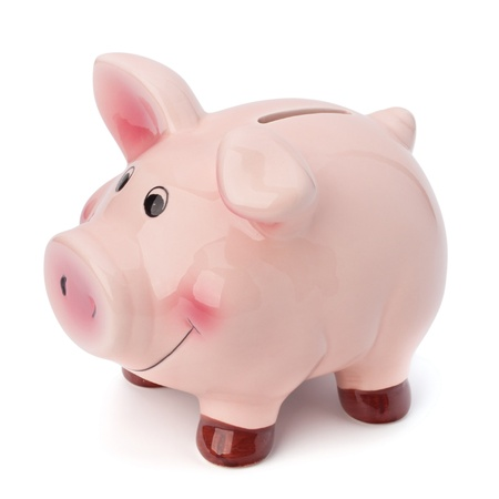 Piggy bank isolated on white background Stock Photo - 11062292