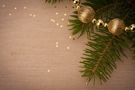 christmas religious: Christmas festive background with copy space Stock Photo