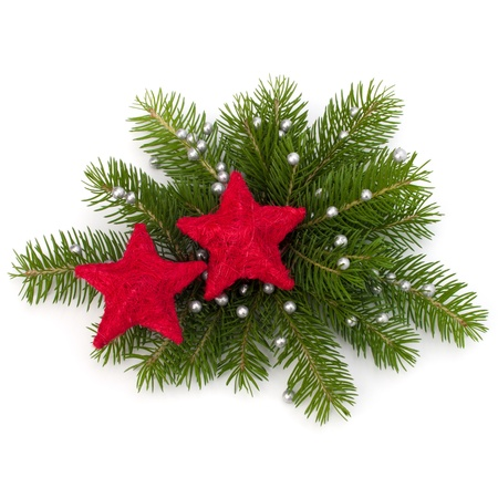 Christmas decoration isolated on white background Stock Photo - 11447726