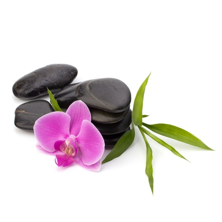 Zen pebbles balance. Spa and healthcare concept. Stock Photo - 13189197