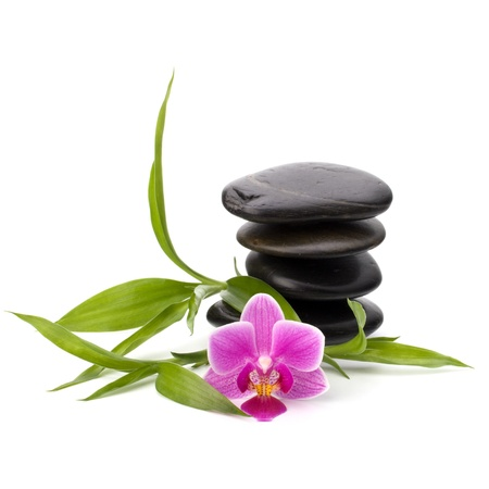 Zen pebbles balance. Spa and healthcare concept. Stock Photo - 13189156