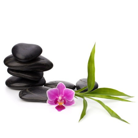 Zen pebbles balance. Spa and healthcare concept. Stock Photo - 13191514